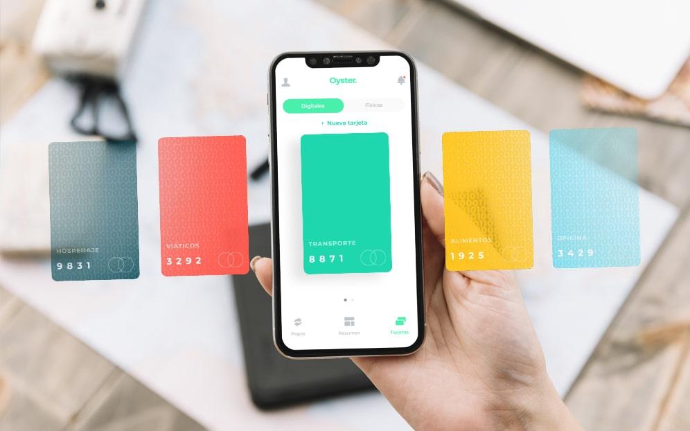 tarjetas digitales Oyster