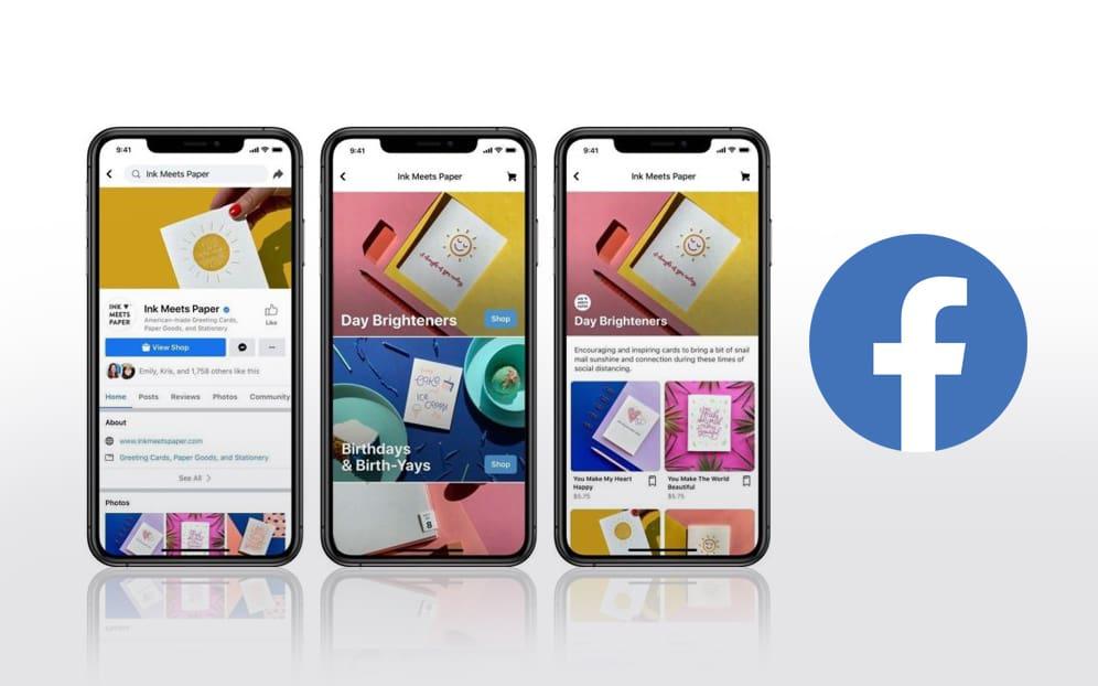 Nuevas tiendas de Facebook