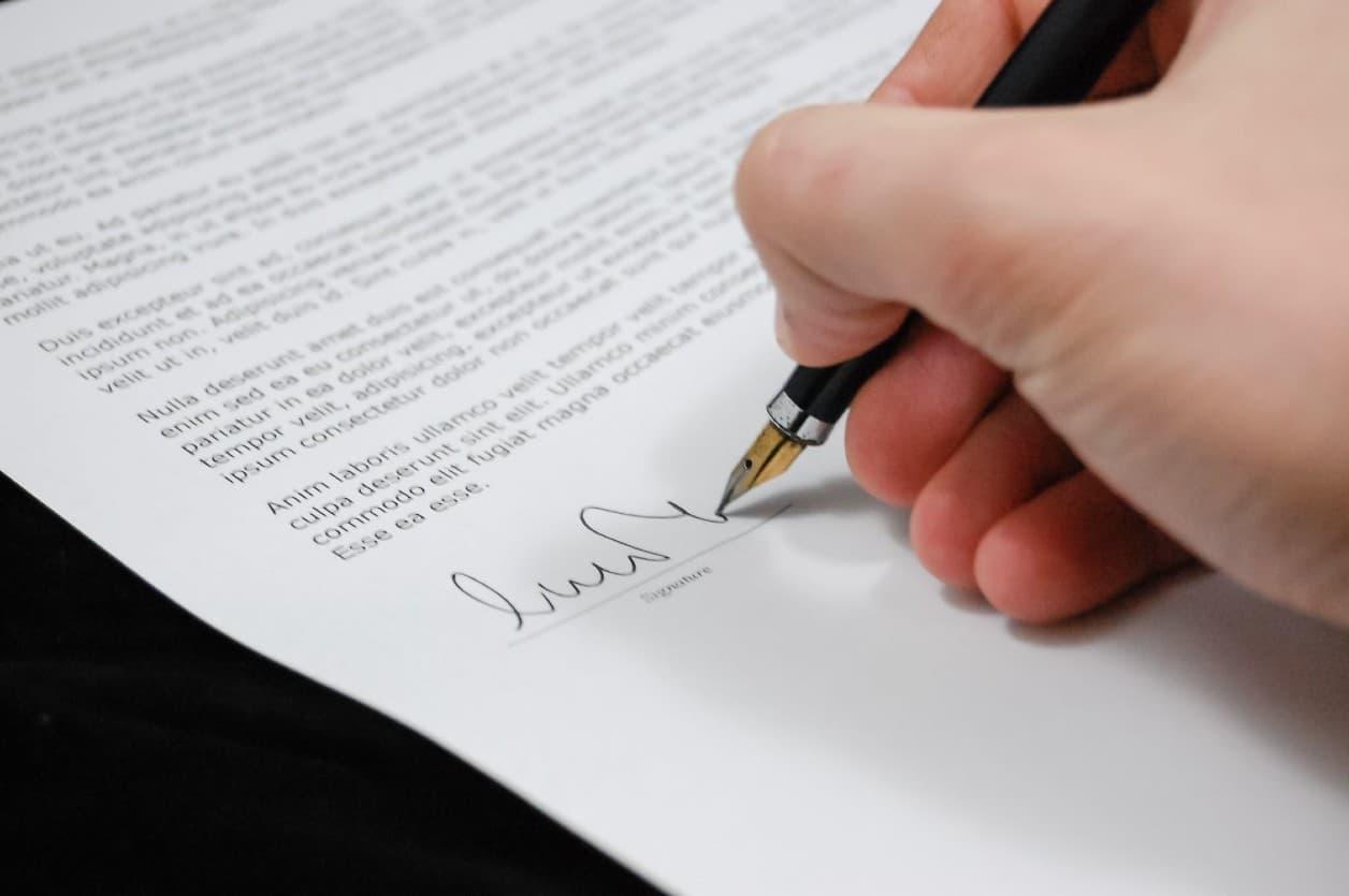 Tipos de contratos para Negocios