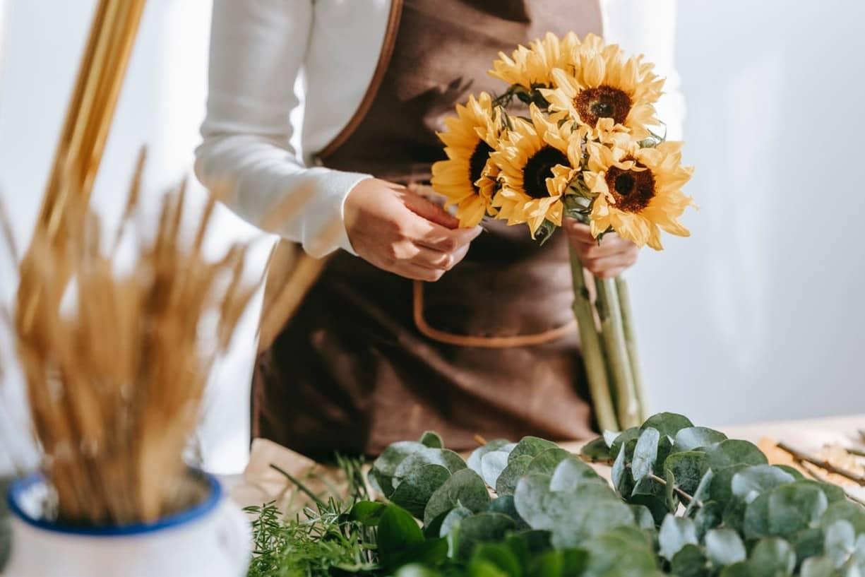 Negocio de flores - florería